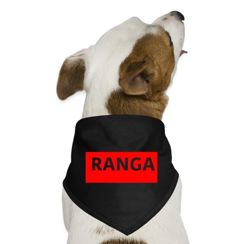 Ranga Red BAr - Dog Bandana