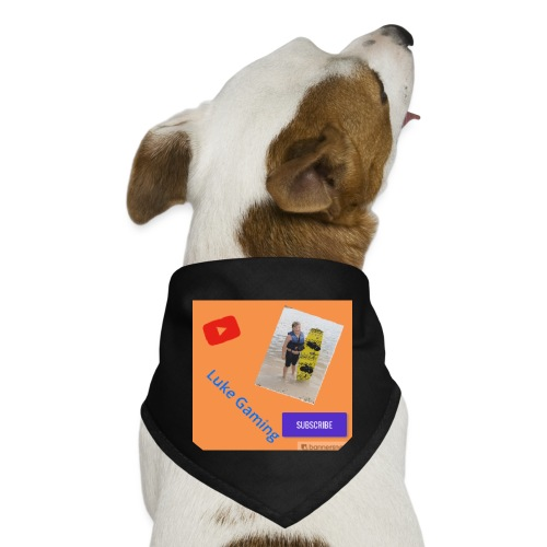 Luke Gaming T-Shirt - Dog Bandana