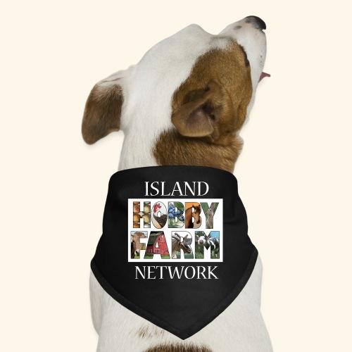 Island Hobby Farm White Logo - Dog Bandana