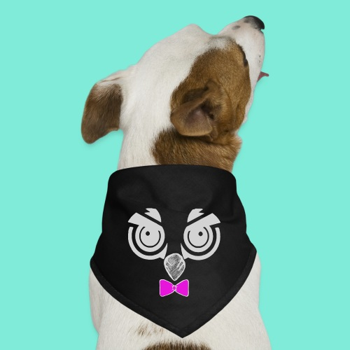 Mackster white - Dog Bandana