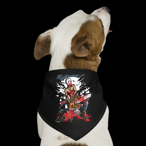 Halloween Chainsaw Killer - Dog Bandana