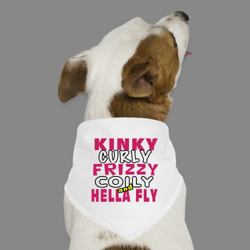Kinky Curly Frizzy - Dog Bandana