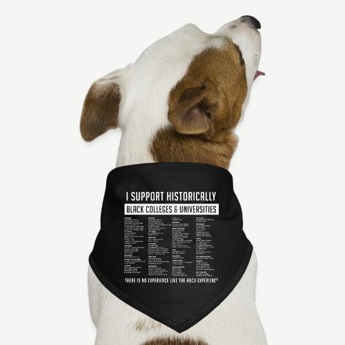 Support HBCUs List - Dog Bandana