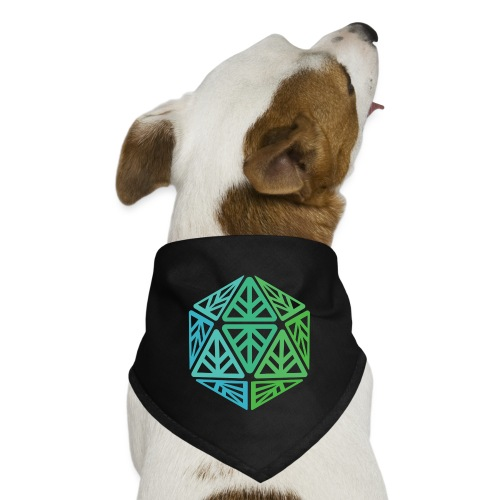 Green Leaf Geek Iconic Logo - Dog Bandana