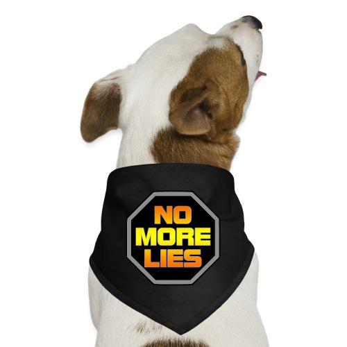 stopp no more lies - Dog Bandana