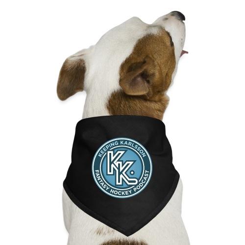 Keeping Karlsson Circle Logo - Dog Bandana