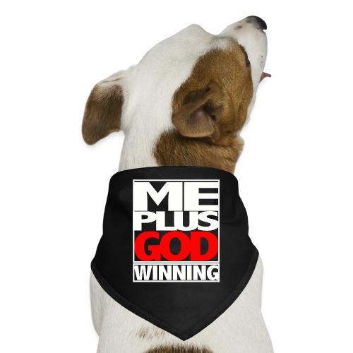 ME GOD WIN WHT - Dog Bandana
