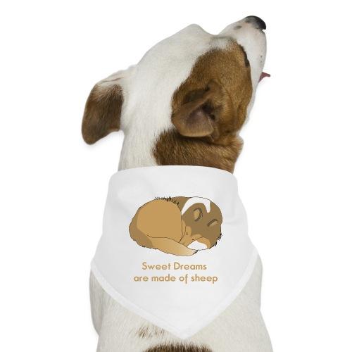 Sleeping Holly sweet dr - Dog Bandana