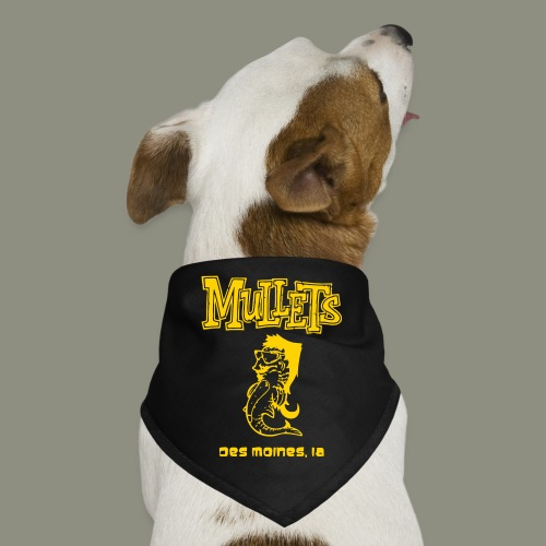 Mullets Color Series - Dog Bandana