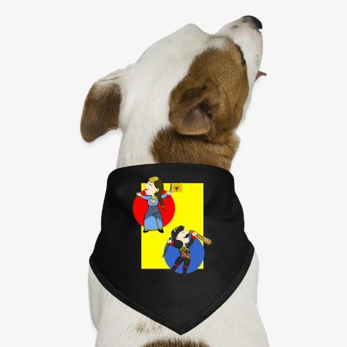 Cartoon - Pontios/lyra & Pontia/flag - Dog Bandana