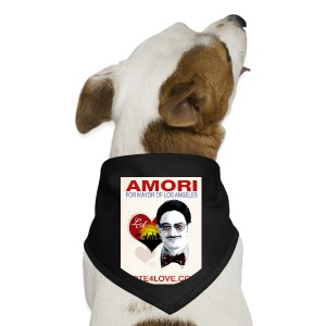 Amori for Mayor of Los Angeles eco friendly shirt - Dog Bandana