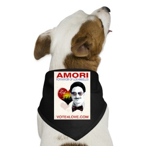 Amori for Mayor of Los Angeles eco friendly shirt - Dog Bandana