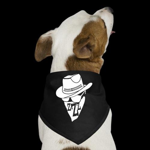 DREAM BANDITS WHITE Large Logo - Dog Bandana