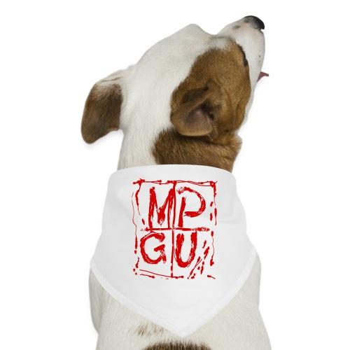 MPGU RED STROKE - Dog Bandana