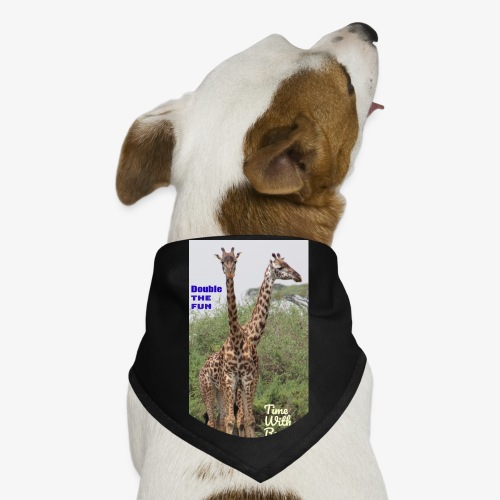 Two Headed Giraffe - Dog Bandana