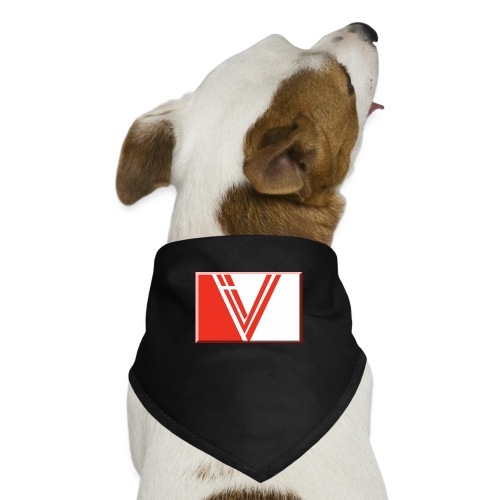 LBV red drop - Dog Bandana