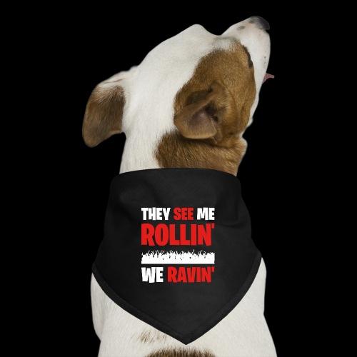 Rollin' We Ravin' - Dog Bandana