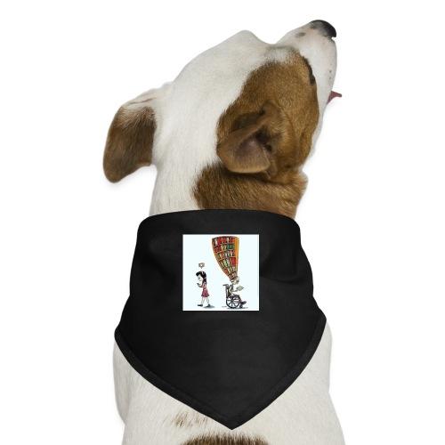 Less mobile more books - Dog Bandana