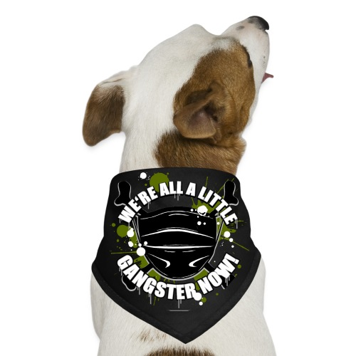 Covid Gangster - Dog Bandana
