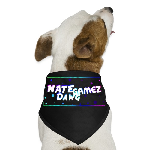 NateDawg Gamez Merch - Dog Bandana