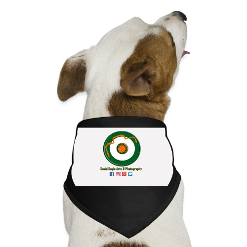 David Doyle Arts & Photography Logo - Dog Bandana
