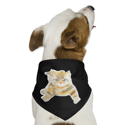 sad boy - Dog Bandana
