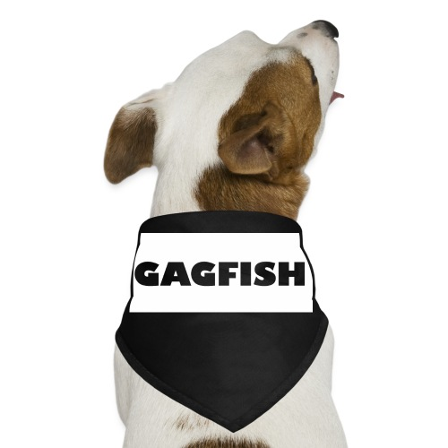 GAGFISH WIGHT LOGO - Dog Bandana