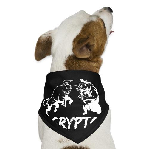 CryptoBattle White - Dog Bandana