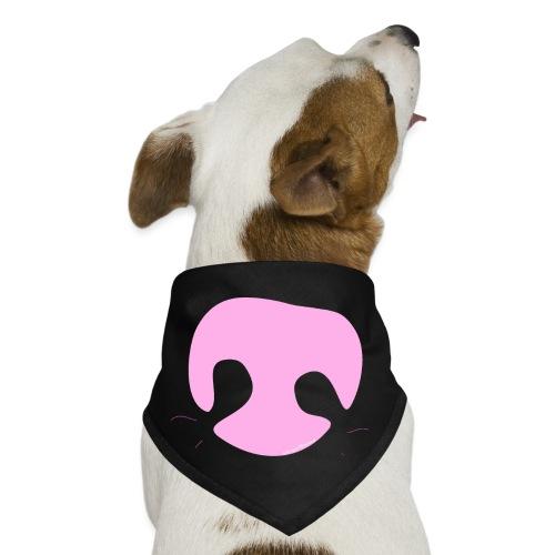 Pink Whimsical Dog Nose - Dog Bandana