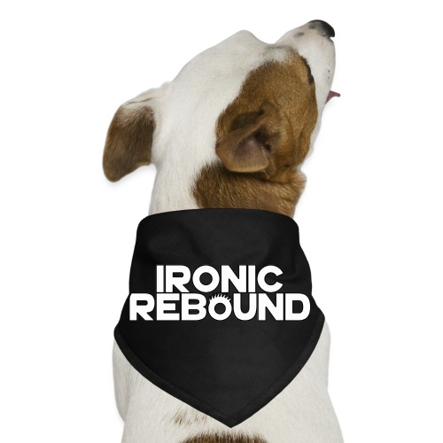 ironic rebound 4 png - Dog Bandana