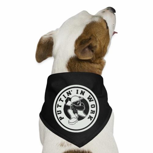 P.I.W White Logo - Dog Bandana