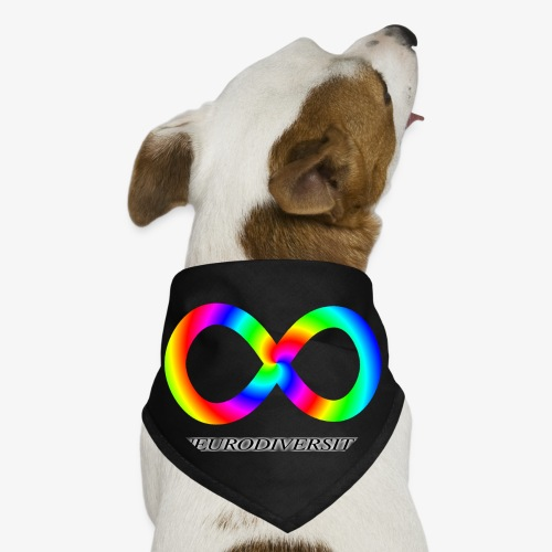 Neurodiversity with Rainbow swirl - Dog Bandana