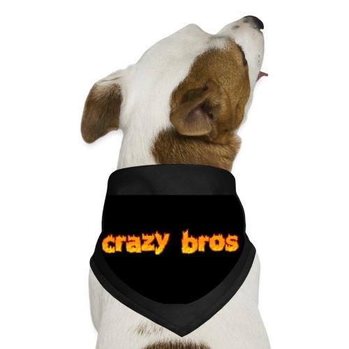 Crazy Bros logo - Dog Bandana