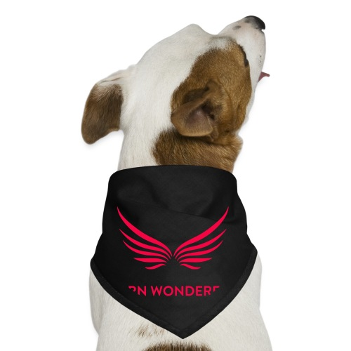 Red Born Wonderful Logo - Dog Bandana