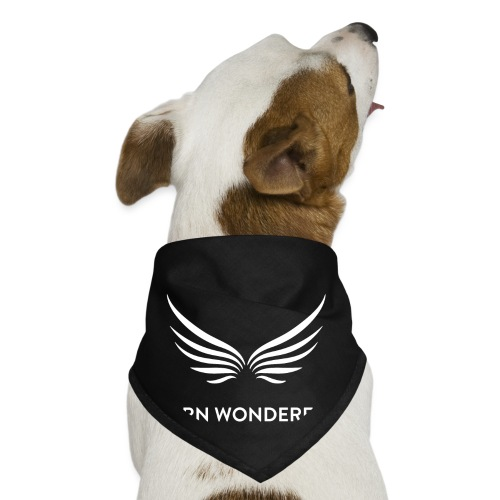 white logo transparent background - Dog Bandana