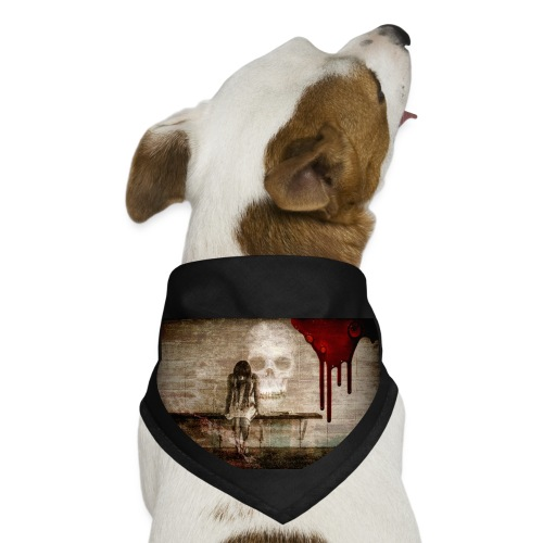 sad girl - Dog Bandana