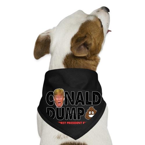 Conald Dump Worst President Ever - Dog Bandana