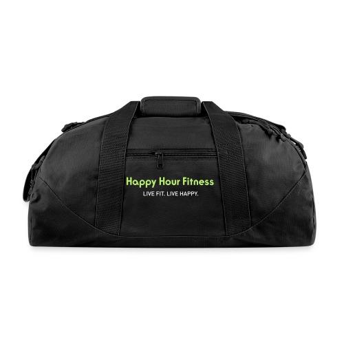 HHF_logotypeandtag - Duffel Bag