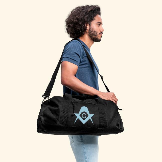 Masonic Large Duffle Bag With Adjustable Shoulder Strap.