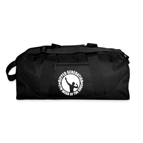 Ripped Generation Gym Wear of the Gods Badge Logo - Duffel Bag