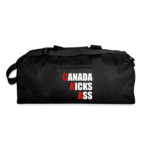 Canada Kicks Ass Vertical - Duffel Bag