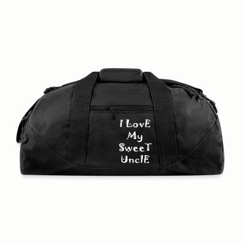 I love my sweet uncle - Duffel Bag