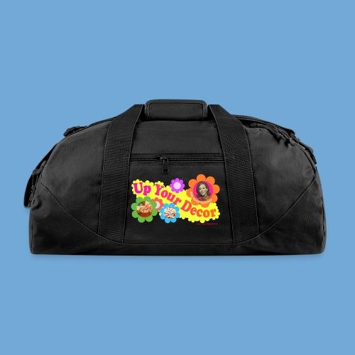 Up Your Decor logo. - Duffel Bag