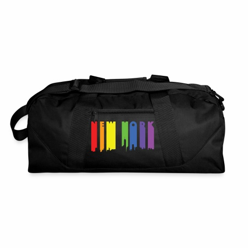 New York design Rainbow - Duffel Bag