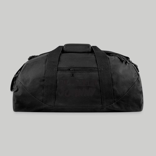Ol' School Johnny Logo - Black Text - Duffel Bag