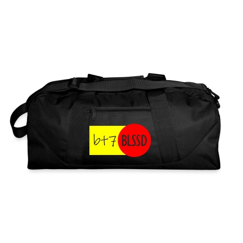 B+7 BLSSD FORMULA YELLOW RED - Duffel Bag