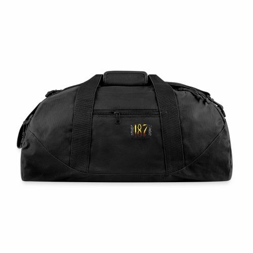 Coloured Trevor Loomes 187 Fight Gear Logo - Duffel Bag