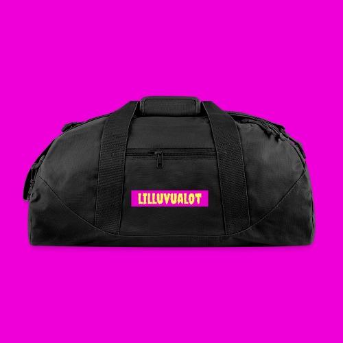 lilluvualot box logo - Duffel Bag