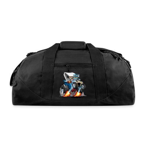 Custom T-bucket Roadster Hotrod Cartoon - Duffel Bag