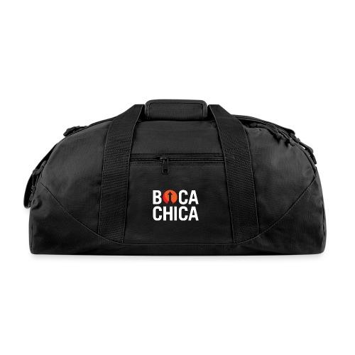 Boca Chica Starship Mars Silhouette - Duffel Bag